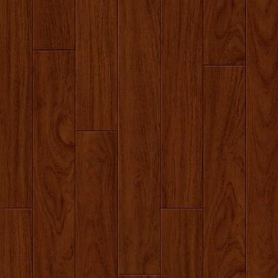Exotic 5.25-in Brazilian Cherry Bamboo Hardwood Flooring (17.41-sq ft)