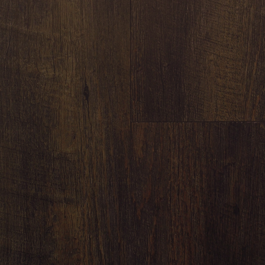 Shop smartcore by natural floors 12 piece 5 in x 48 in for Dark wood vinyl flooring
