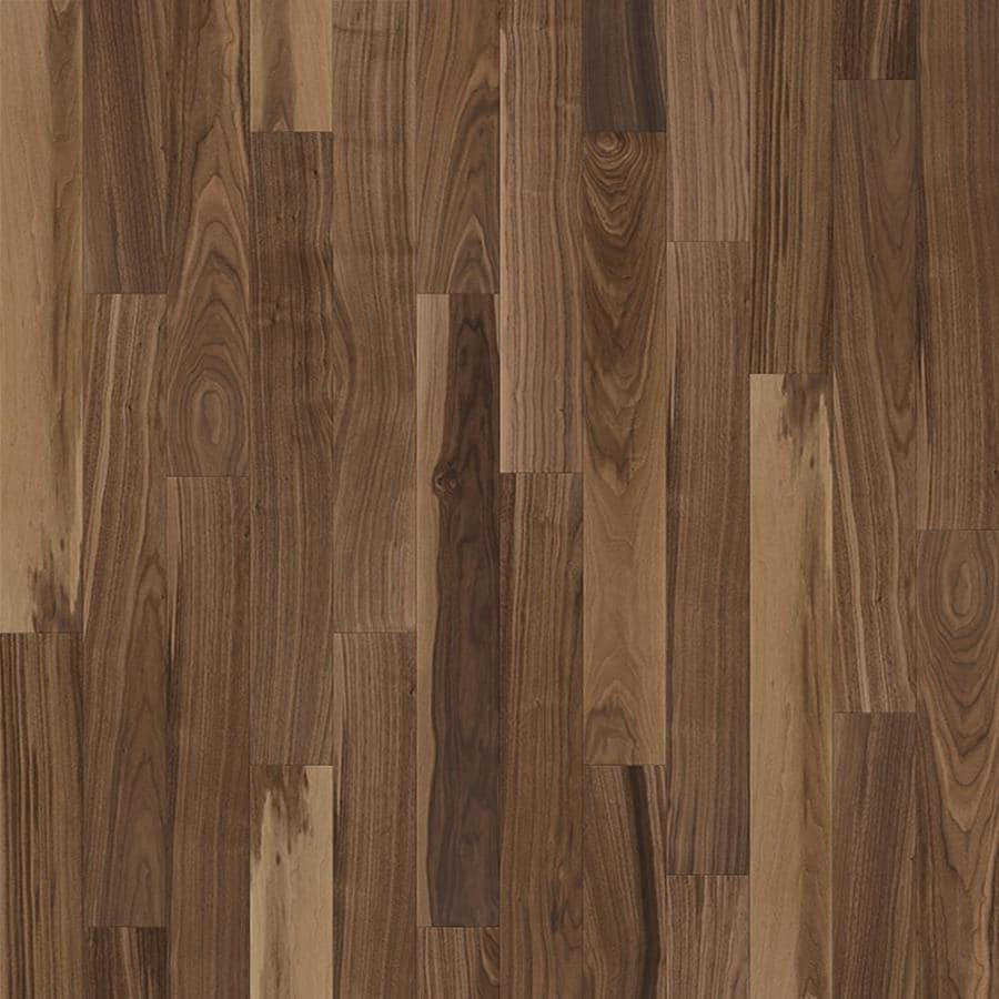Shop natural floors by usfloors 5 in acadian walnut walnut for Walnut hardwood flooring