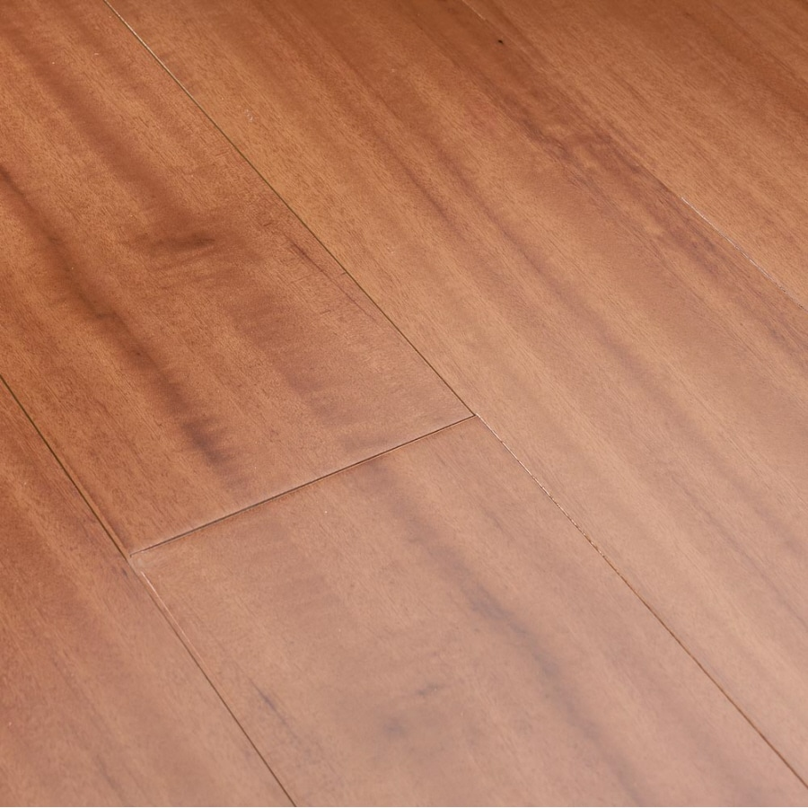 Shop natural floors by usfloors exotic 5 in natural for Tigerwood hardwood flooring