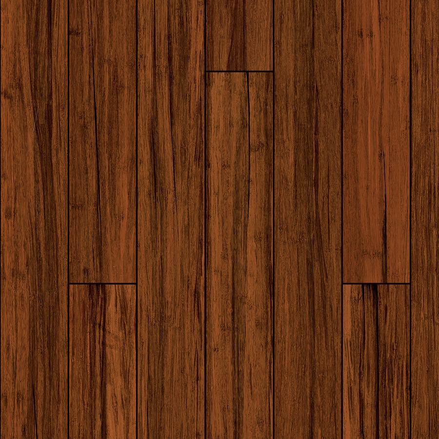 Shop natural floors by usfloors exotic 5 in antique bamboo for Bamboo hardwood flooring