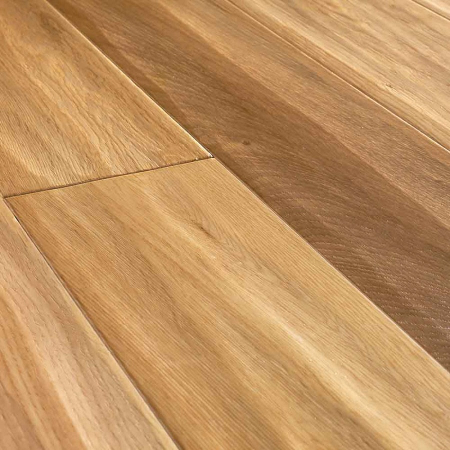 Shop natural floors by usfloors domestic handscraped 4 9 for What is prefinished hardwood
