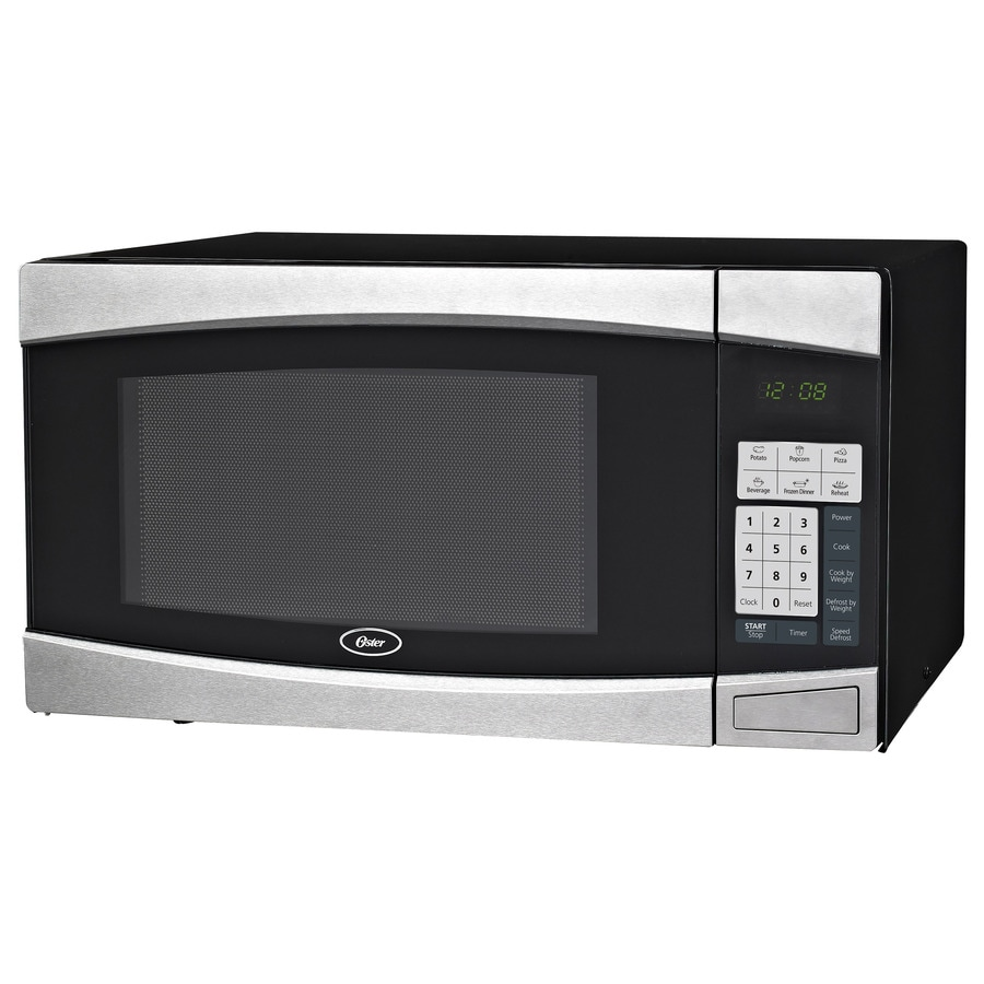 Oster 1.4-cu ft 1000-Watt Countertop Microwave (Black)