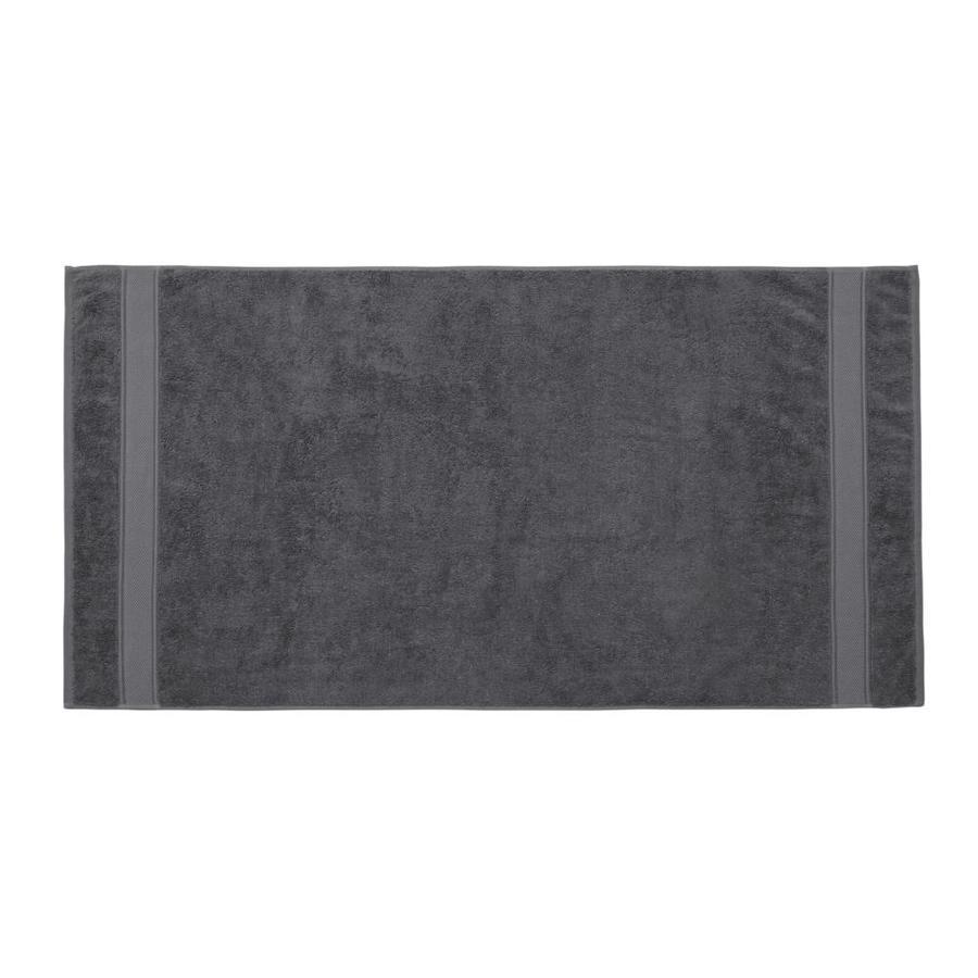 Grund Grund Pinehurst 36inx72in Gray 72-in x 36-in Gray Organic cotton Bath towel