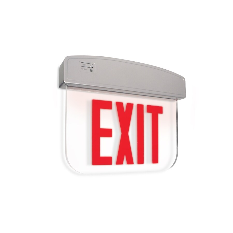 Utilitech Red LED Exit Light