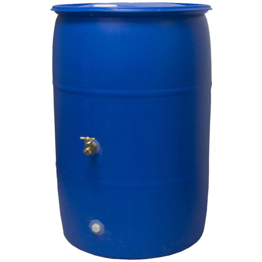 Rain Wizard 55 Gallon Reclaimed Rain Barrel At Lowescom