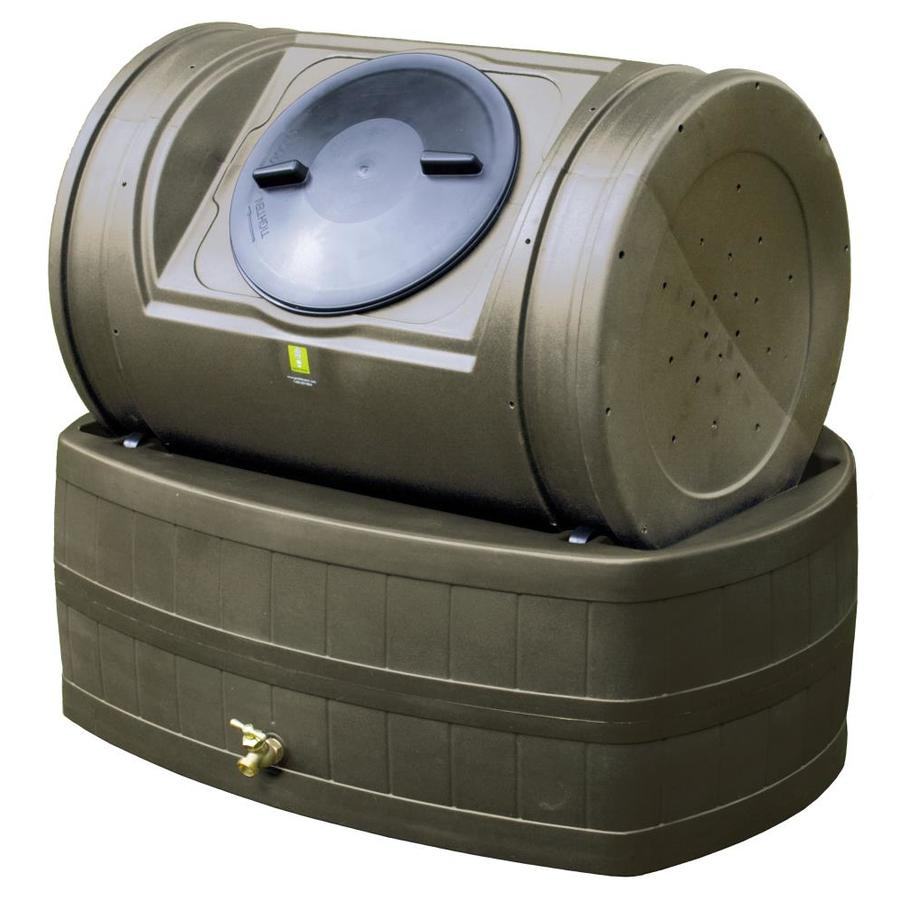 Compost Wizard 7-cu ft Plastic Combination Composter and Rain Barrel Composter