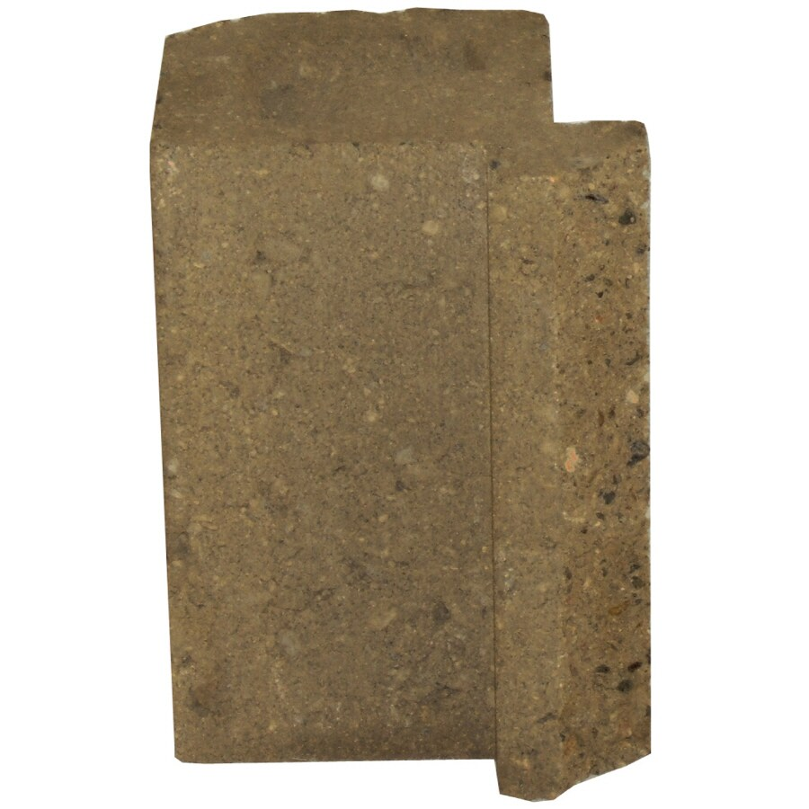 Novabrik 4.25-in x 6-in Desert Sand Inside Corner Block Brick Veneer Trim