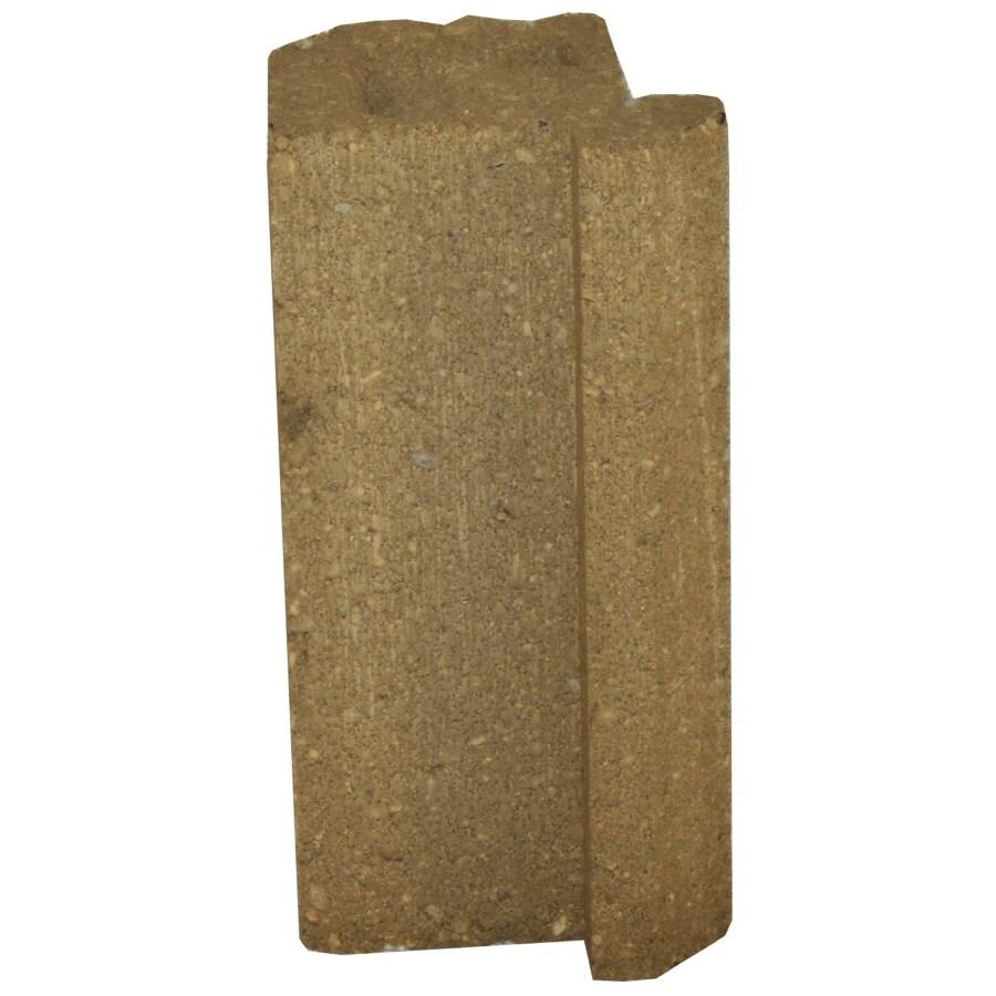 Novabrik 4.25-in x 8-in Desert Sand Inside Corner Block Brick Veneer Trim