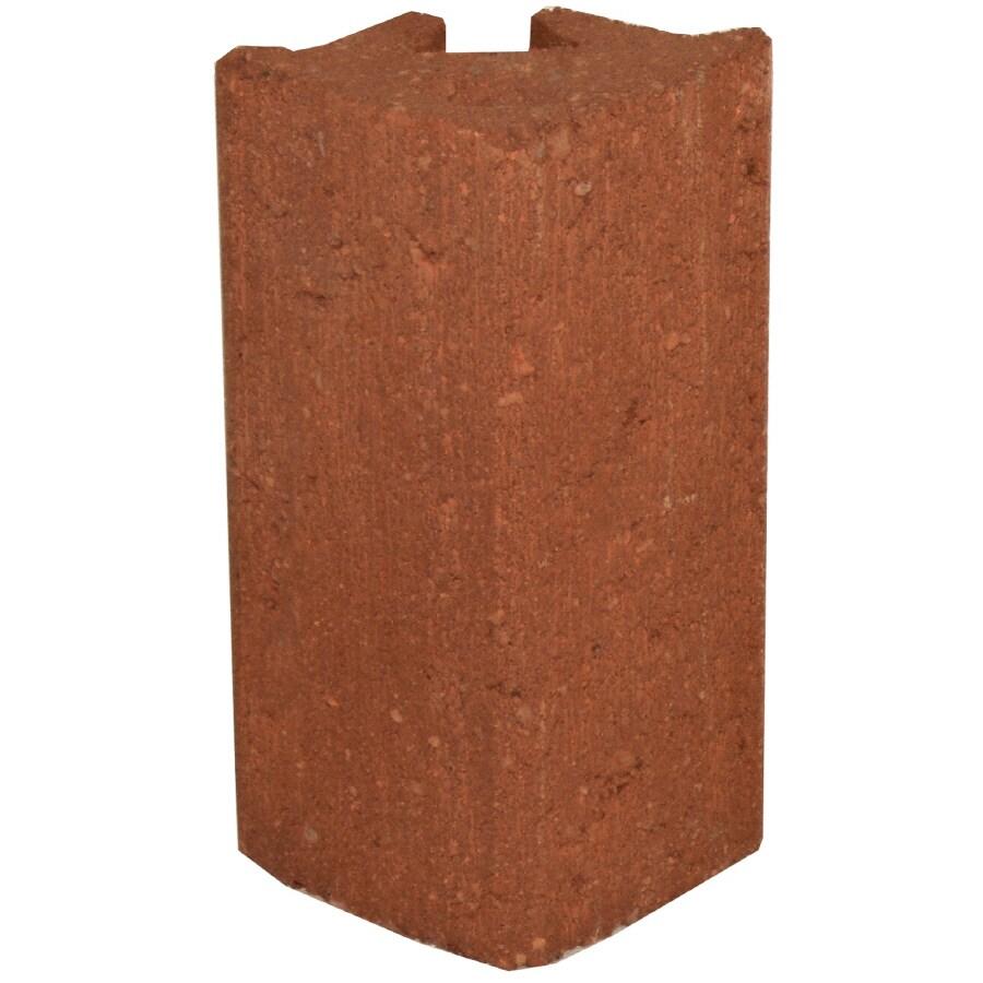 Novabrik 3.81-in x 8-in Colonial Red Outside Corner Block Brick Veneer Trim