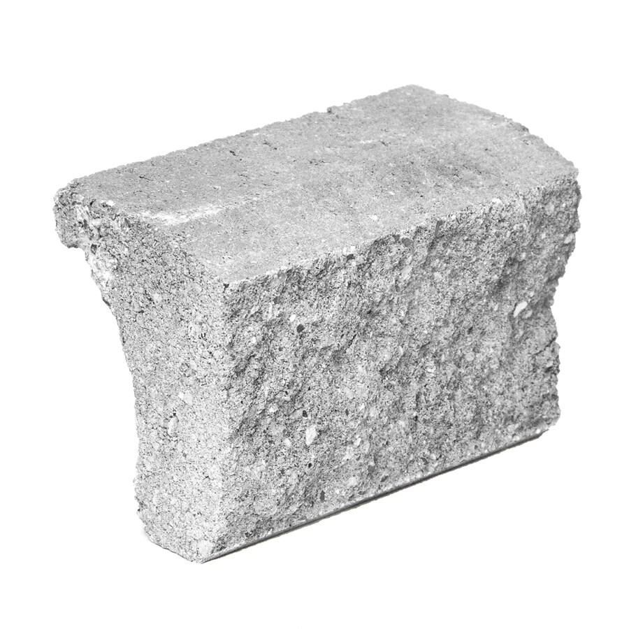 Novabrik 3.87-in x 7.87-in Aspen Gray Wainscot Caps Brick Veneer Trim