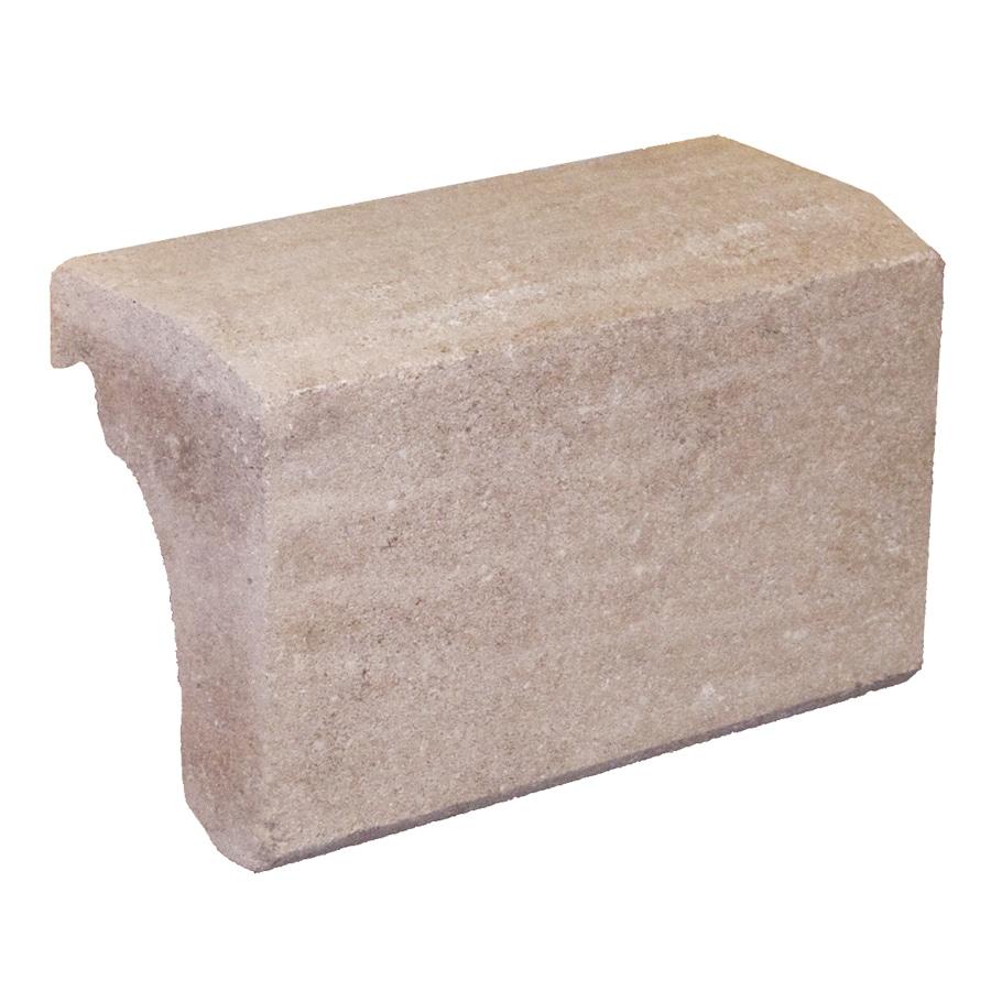 Novabrik 3.87-in x 7.87-in Desert Sand Wainscot Caps Brick Veneer Trim