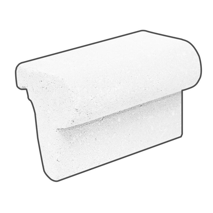Novabrik Marble White Brick Veneer Bullnose