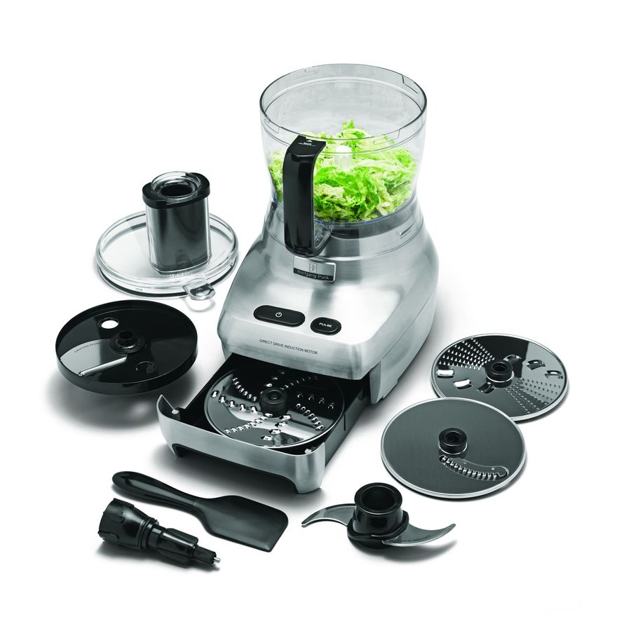 Uncategorized Wolfgang Puck Kitchen Appliances shop wolfgang puck 12 cup stainless steel food processor with storage drawer