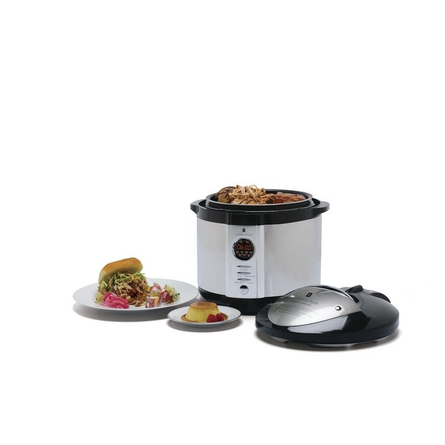Wolfgang Puck 7 Quart Electronic Pressure Cooker At Lowes Com