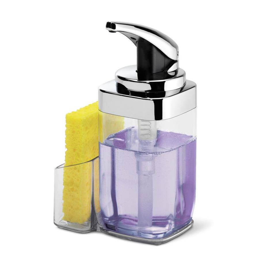 simplehuman Chrome Soap and Lotion Dispenser