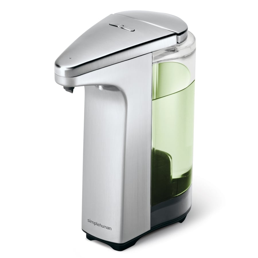 simplehuman Brushed Nickel Soap and Lotion Dispenser