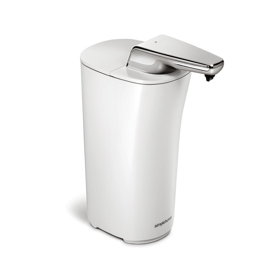 Shop Simplehuman White Soap Lotion Dispenser At