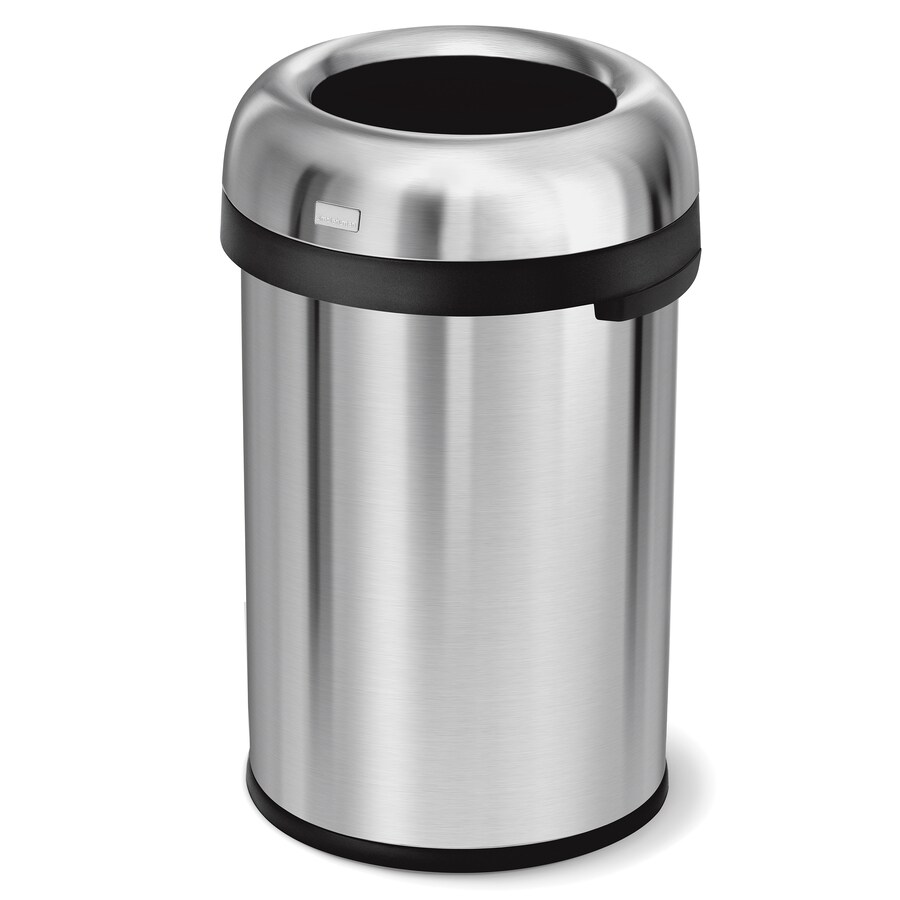 Simplehuman 115 Liter Bullet Open Top Trash Can With Lid