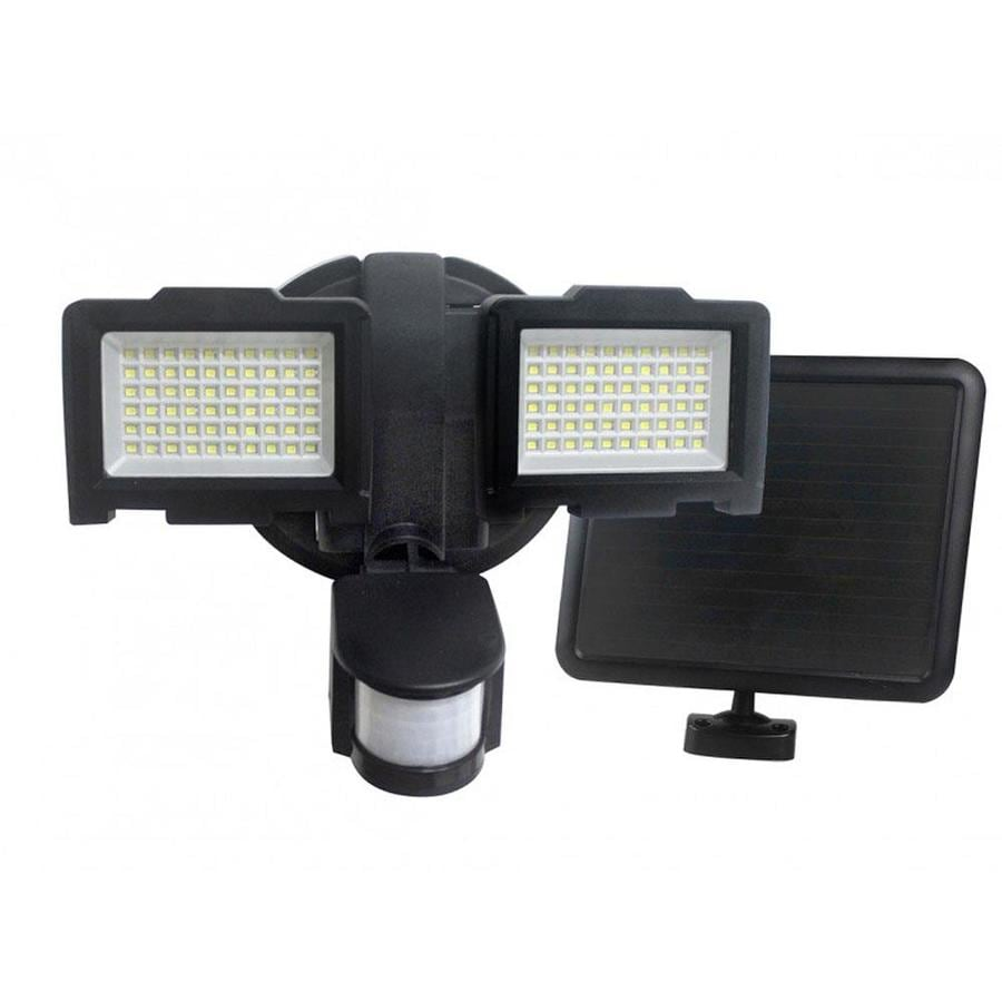 Porch Light With Camera Costco: Nature Power Solar Security Light 800 Black LED Night
