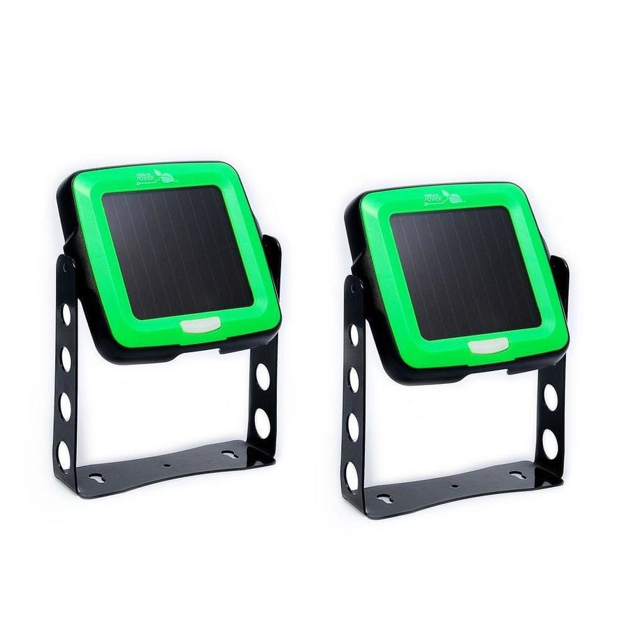Nature Power 2 Pack Indoor Outdoor Solar Light Green Led