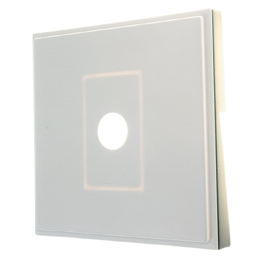 Shop Severe Weather 7 In X 7 In White Vinyl Light Mounting Block At