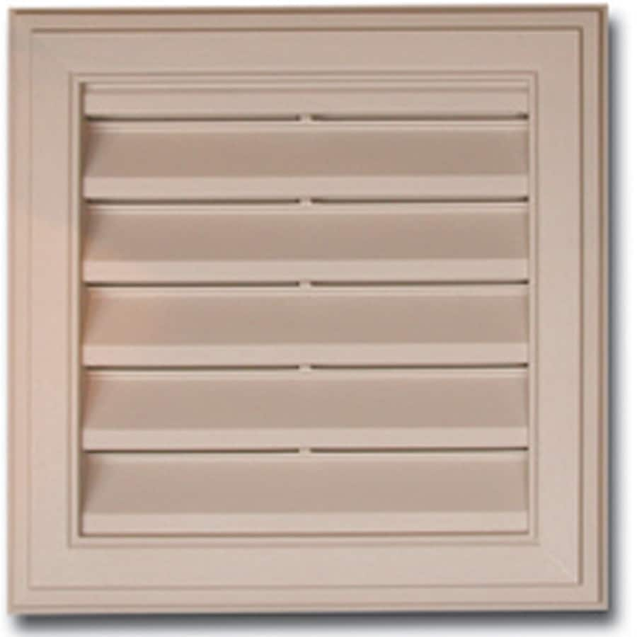 Royal 11-in x 11-in White Square Plastic Gable Vent