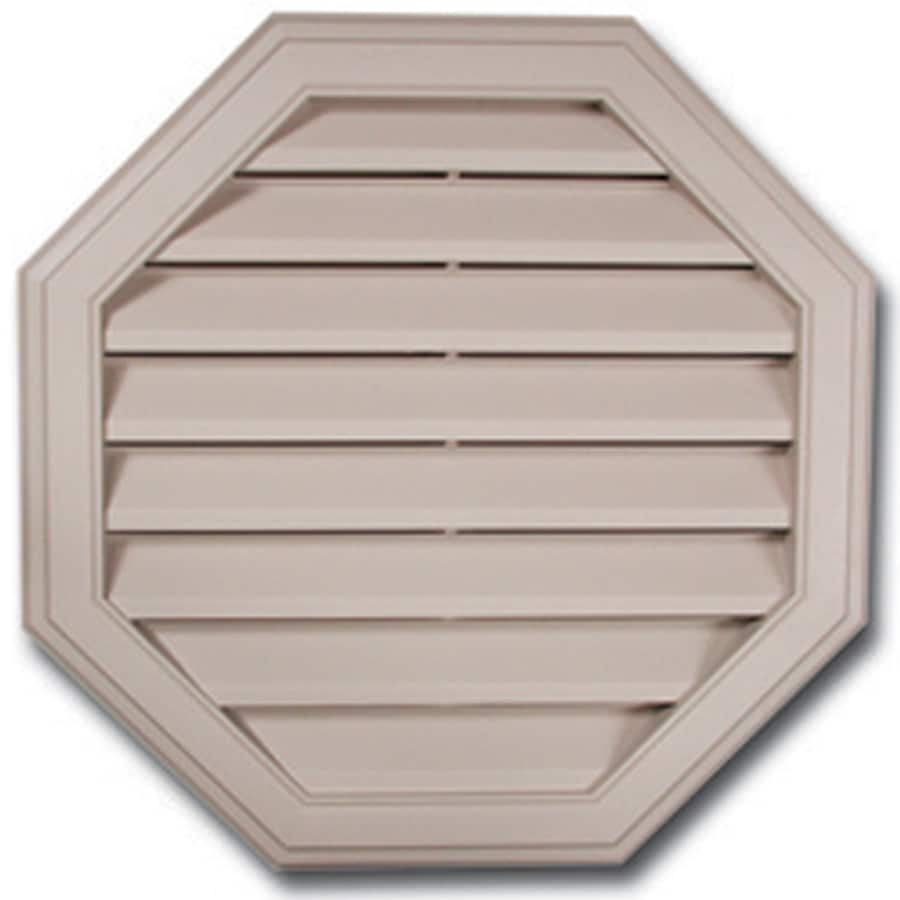 Royal 16-in x 16-in White Octagon Plastic Gable Vent