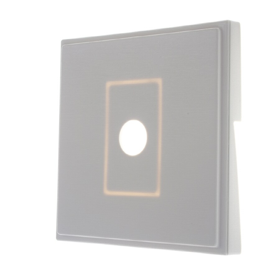 Severe Weather 7-in x 7-in Ivory Vinyl Light Mounting Block