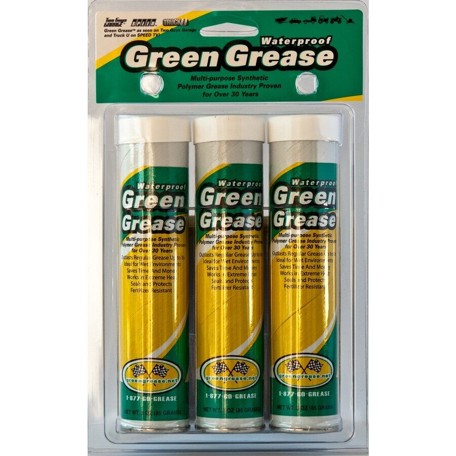 Omni Lubricants 3-Pack 3-oz Green Grease Cartridges