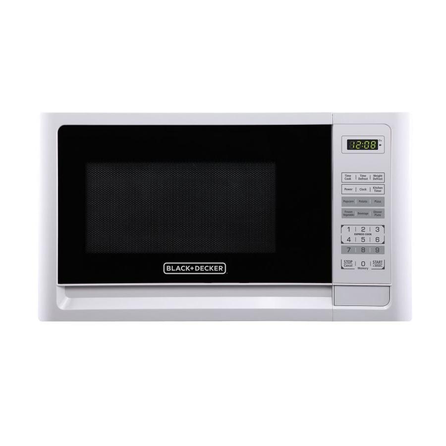 Black Decker 1 1 Cu Ft 1000 Watt Microwave Oven: BLACK+DECKER 1.1-cu Ft 1000-Watt Countertop Microwave