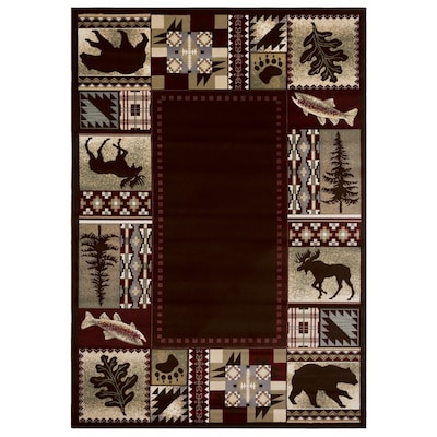 National Preserve Brown Area Rugs