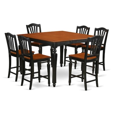 Chelsea Black and Cherry Dining Set With Table