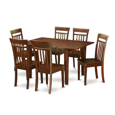 Picasso Mahogany Dining Set With Table