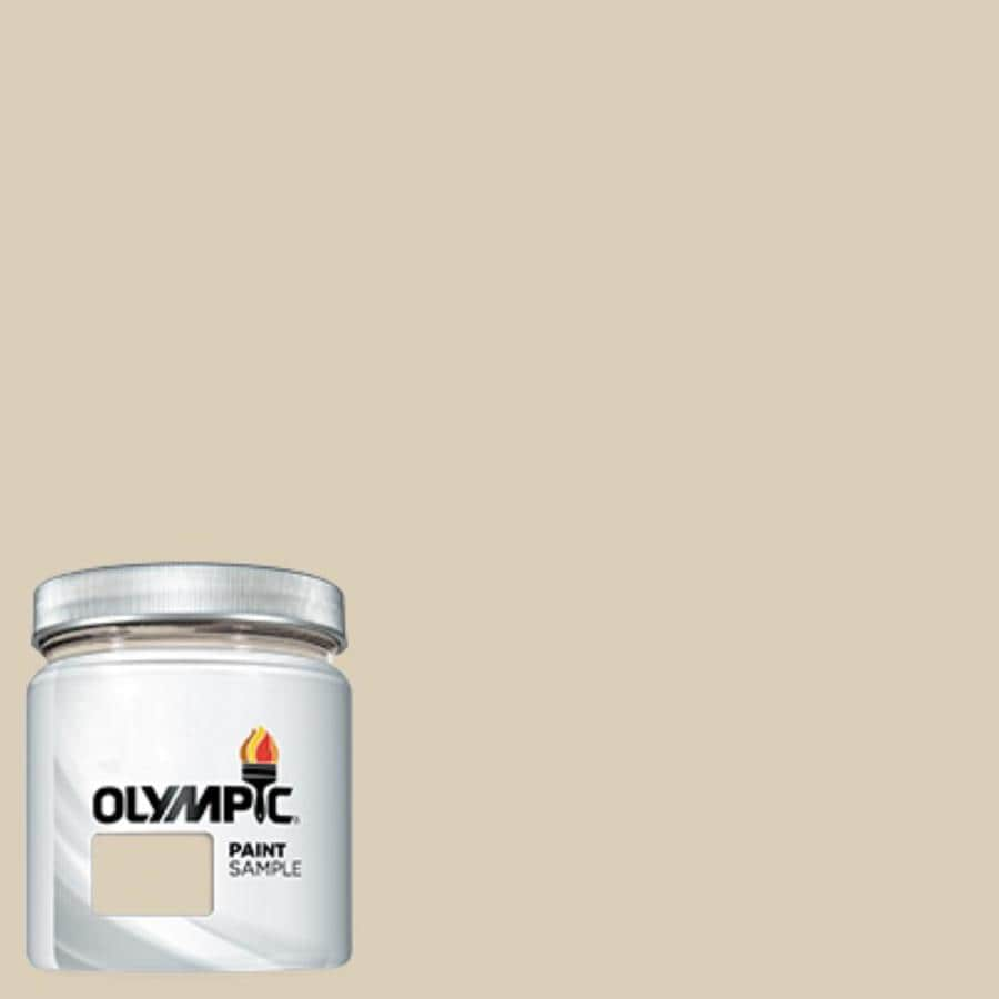 Shop Olympic Toasted Almond Interior Exterior Paint Sample