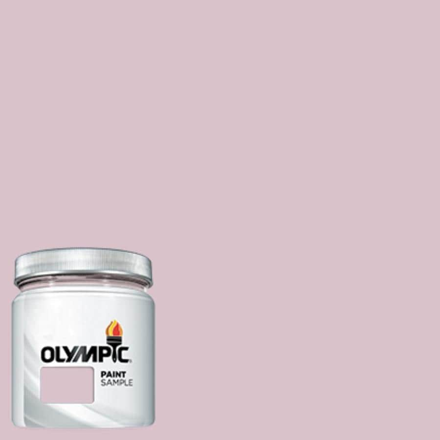 Olympic (OL718.3) Old Mission Pink Interior/Exterior Satin Paint Sample (Actual Net Contents: 7.25-fl oz)