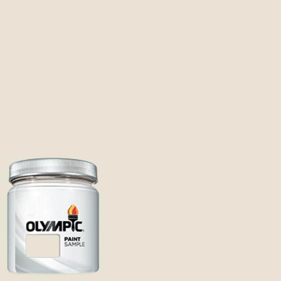 Olympic Off White Interior Exterior Paint Sample Actual Net Contents 7 25 Fl Oz