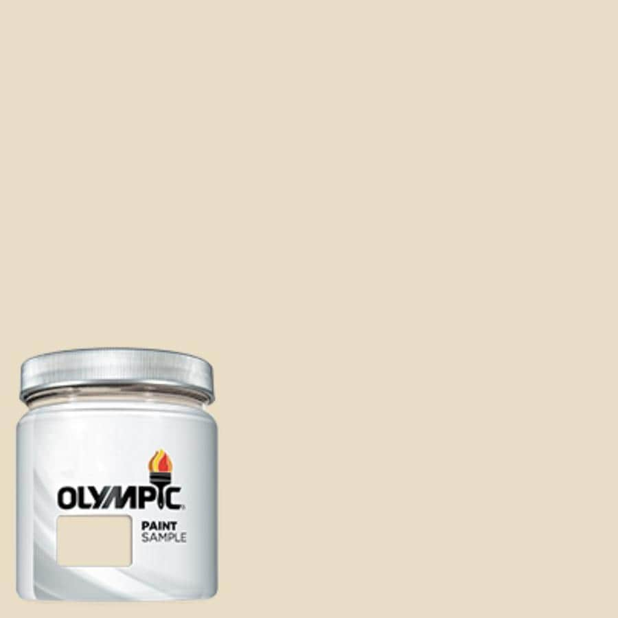 Shop Olympic Heavy Cream Interior Exterior Paint Sample
