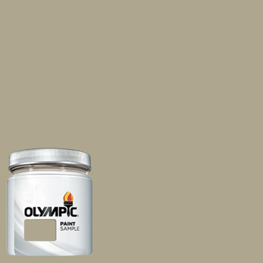 Olympic (OL136) Olive Gray Interior/Exterior Satin Paint Sample (Actual Net Contents: 7.25-fl oz)