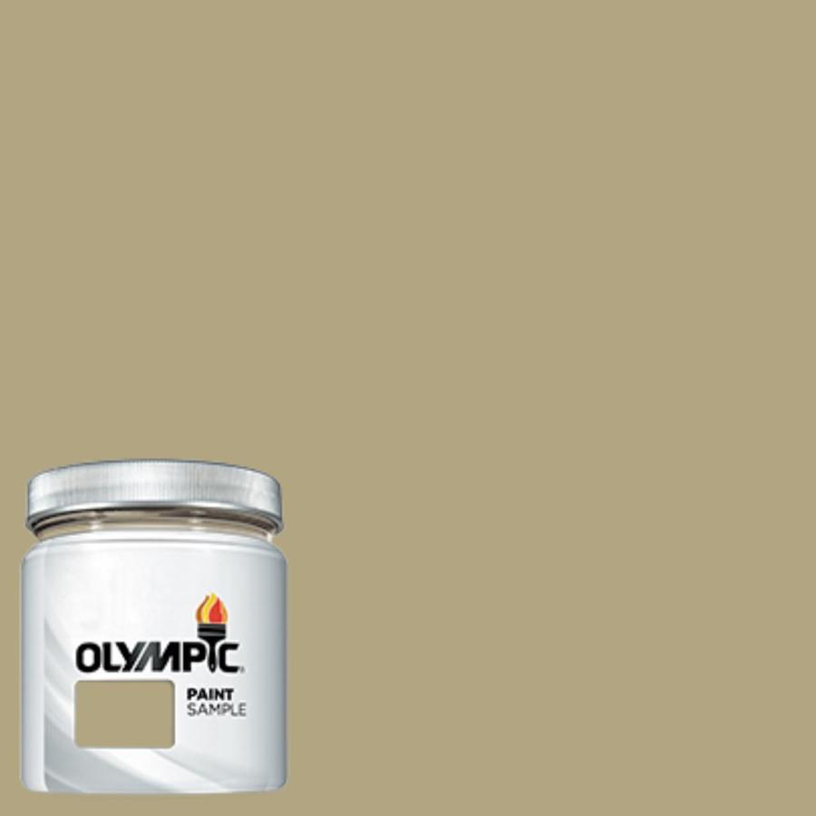 Olympic (OL736.4) Woolen Vest Interior/Exterior Satin Paint Sample (Actual Net Contents: 7.25-fl oz)