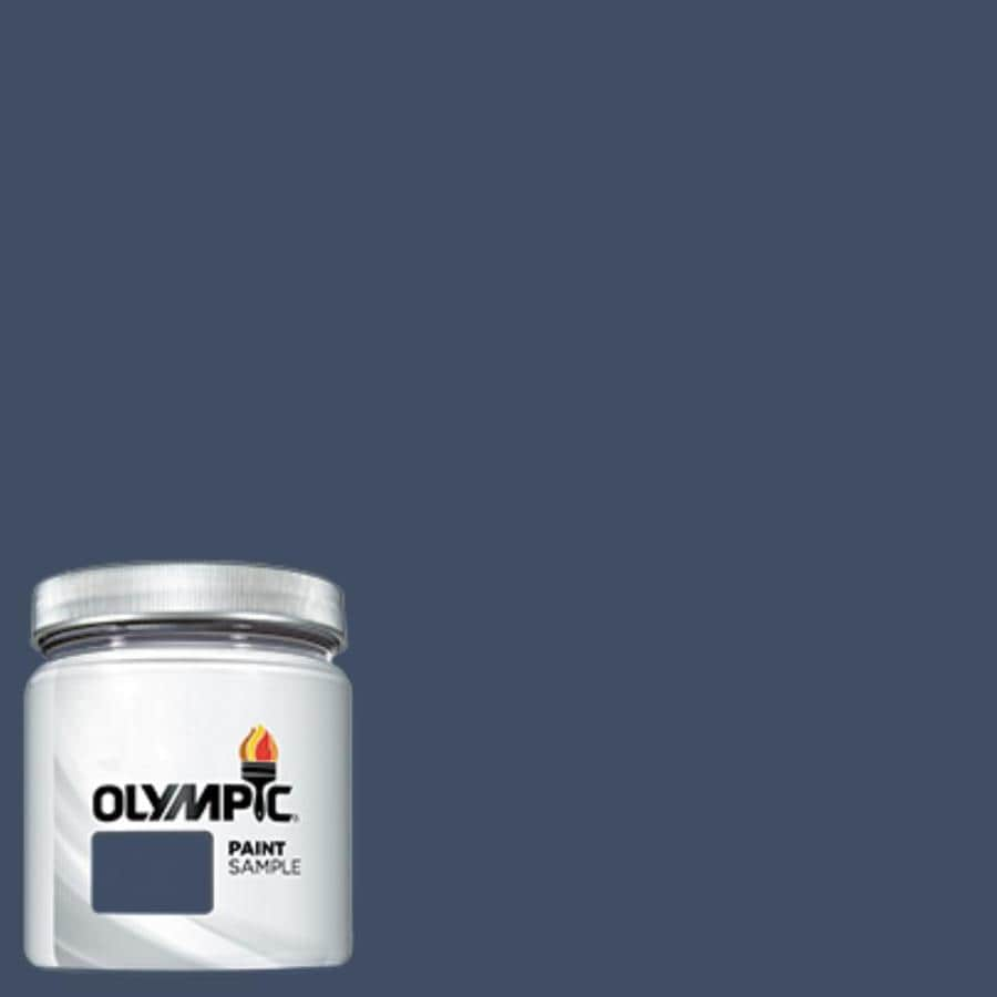 Olympic (OL753.6) Admiralty Interior/Exterior Satin Paint Sample (Actual Net Contents: 7.25-fl oz)