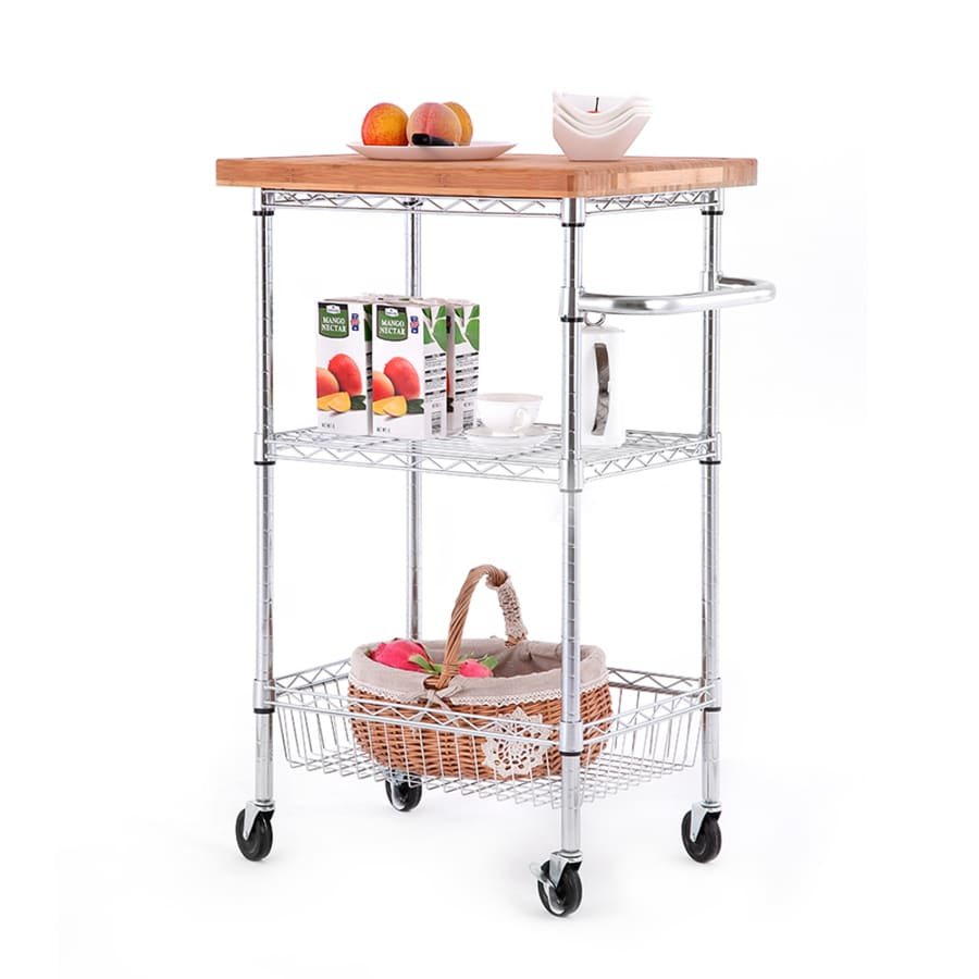 Style Selections Kitchen Cart