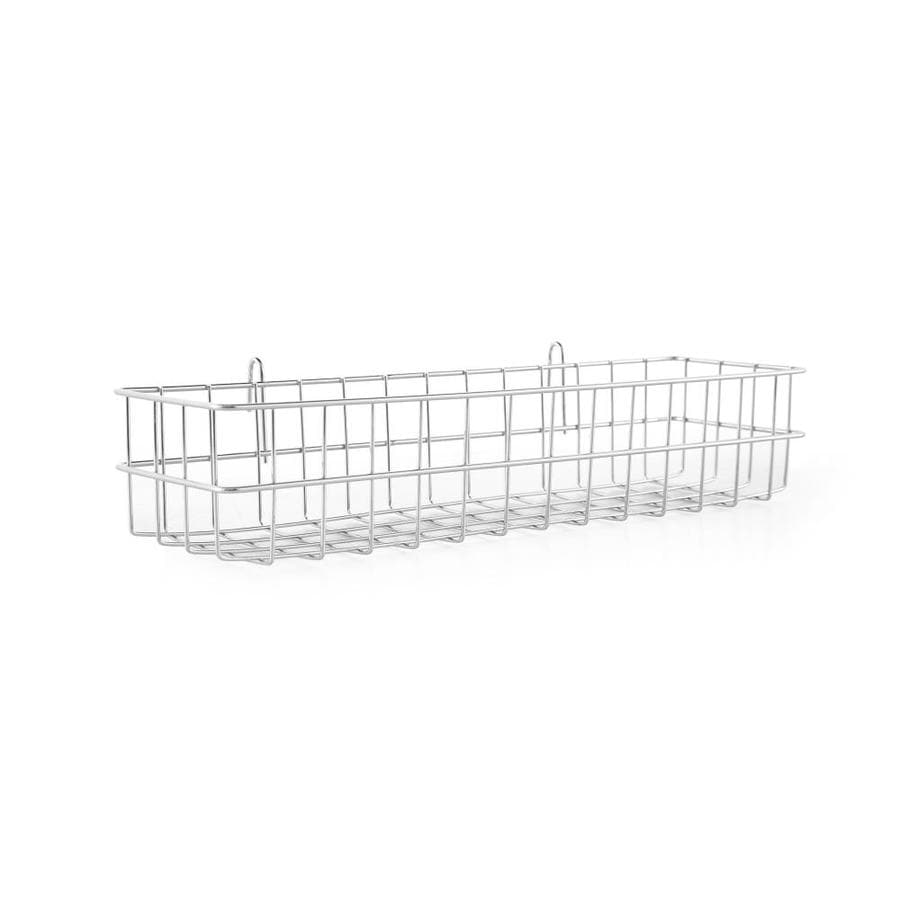 2-ft x 3.9-in Silver Plating Wire Shelf