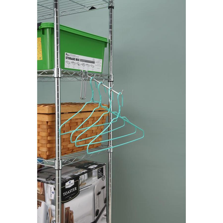 2-ft x 1.4-in Silver Plating Wire Shelf
