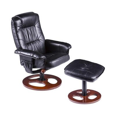 Fabulous Boston Loft Furnishings Lunin Swivel Recliner With Ottoman Gamerscity Chair Design For Home Gamerscityorg