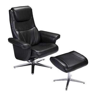 Swell Boston Loft Furnishings Blinter Reclining Chair And Ottoman Frankydiablos Diy Chair Ideas Frankydiabloscom
