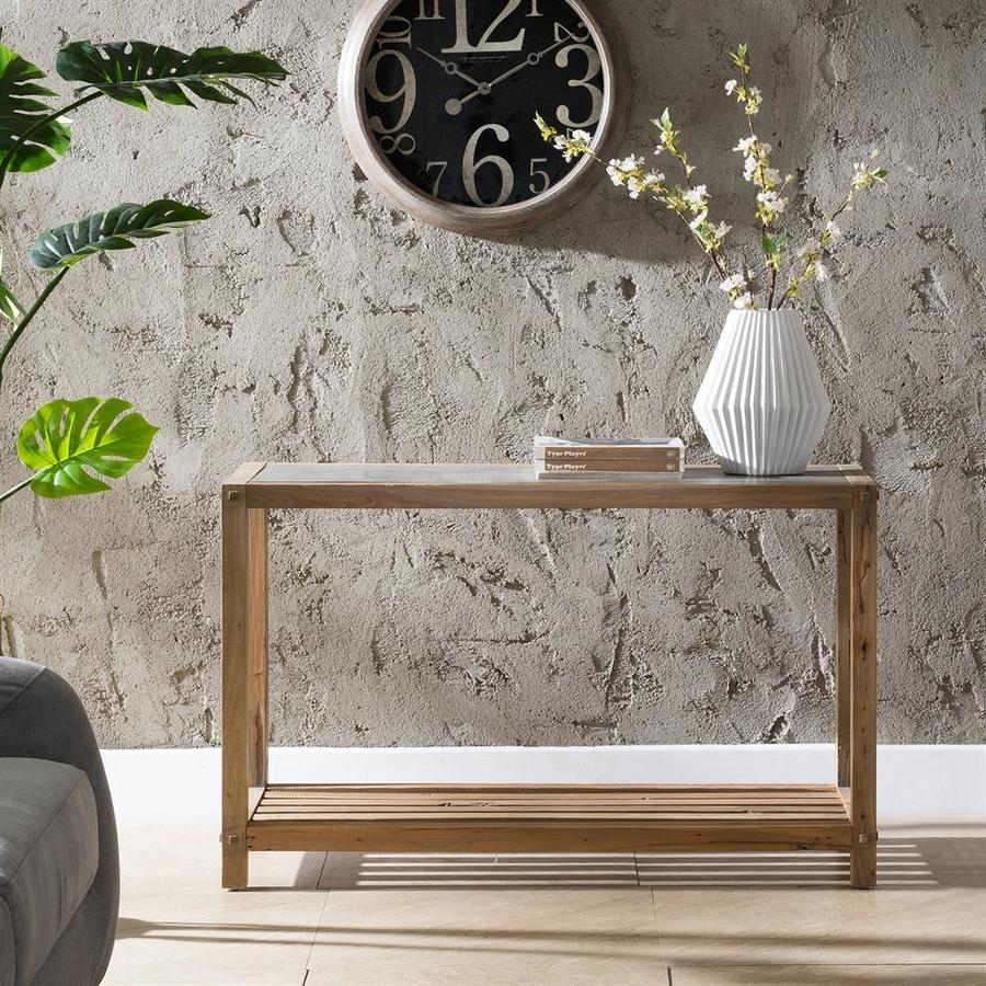 Boston Loft Furnishings Clemmens Reclaimed Wood Sofa Table