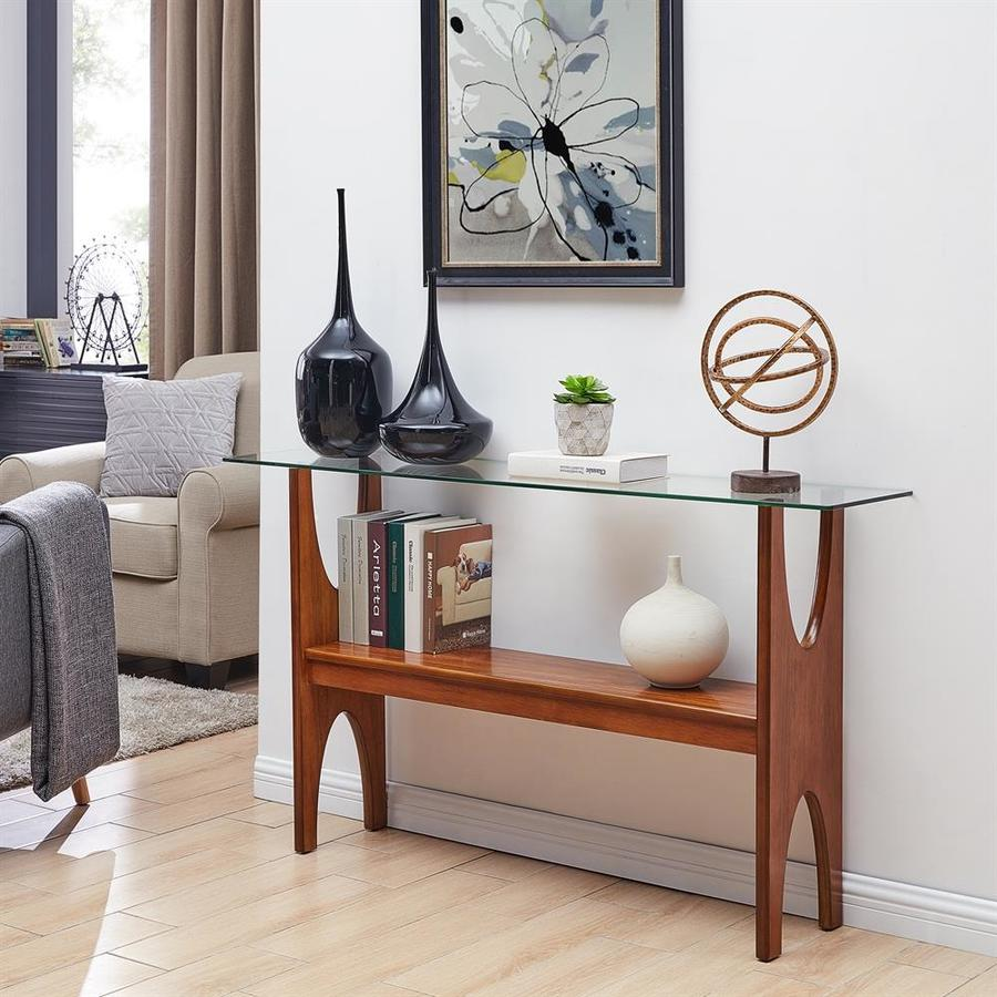 Boston Loft Furnishings Struit Narrow Sofa Table At Lowes Com