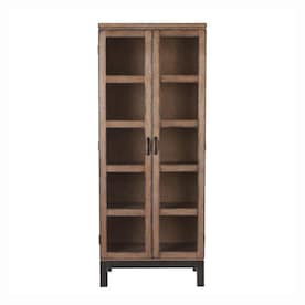 Curio Cabinet Dining Kitchen Storage At Lowes Com