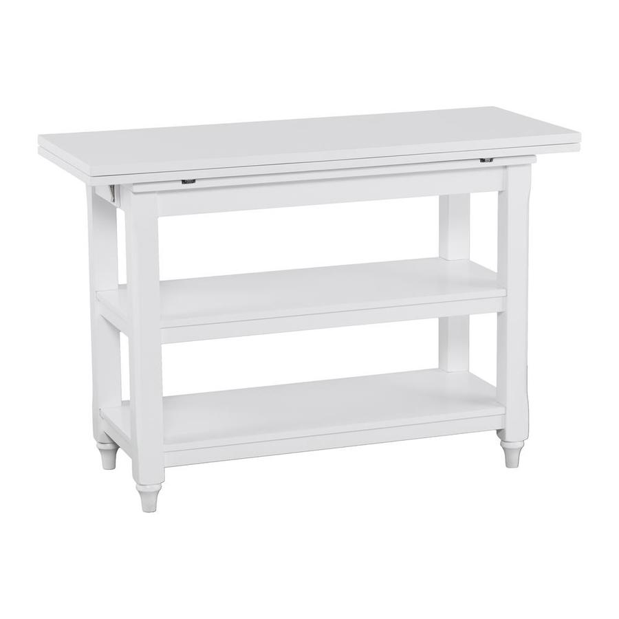 Boston Loft Furnishings Anniston Convertible Console To Dining Table